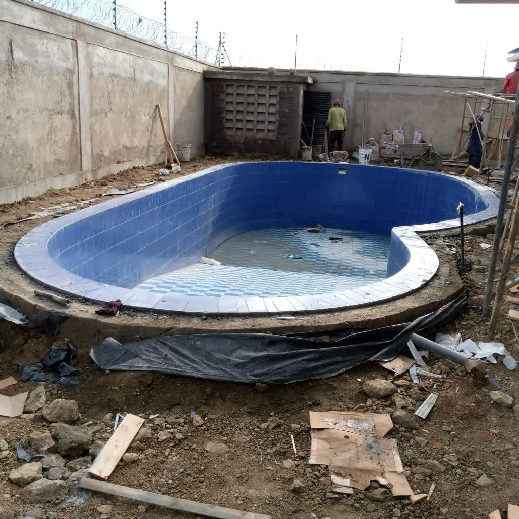 cost of constructing a swimming pool in Kenyan shillings